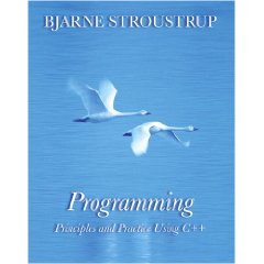 Programming: Principles and Practice Using C++, Bjarne Stroustrup, ISBN: 0321543726