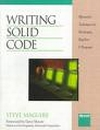 Writing Solid Code, Steve Maguire, ISBN: 1556155514